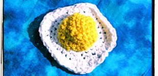 The Crocheted Fried Egg